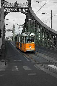 ˚Szabadság híd Tram - Budapest