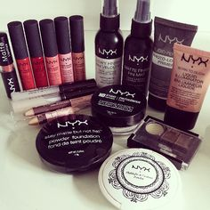 NYX makes fantastic, professional quality makeup.