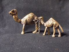 Camel figurine from India made of brass copper. by Woests on Etsy