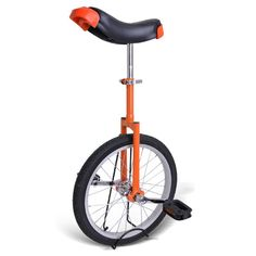 Not only a great workout, unicycles will also make you popular!