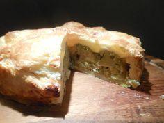 Brokkoli-Lauch-Quiche mit Gorgonzola nach Ottolenghi