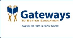 Gateways to Better Education: great information and resources for Christian public school teachers