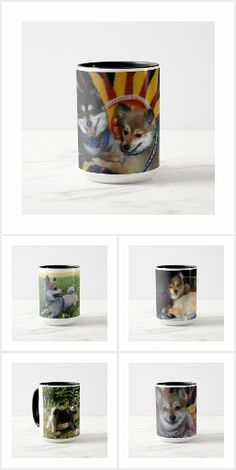 Buy one or collect all six to create a set of Katie & Kohl Coffee Mugs. The images used to create these products were photographed by Abnohr, an Artist in Pottstown, Pennsylvania. Kohls, Coffee Mugs, Create, Tableware, Artist, Collection, Dinnerware, Coffee Cups, Artists