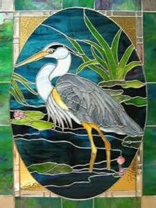 stained glass herons - Yahoo Image Search results