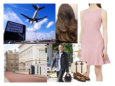 """""""Returning to London and arriving at Clarence House"""" by pacqueline-ngoya on Polyvore featuring mode, Reiss, Globe-Trotter, Samira 13 et Skagen"""