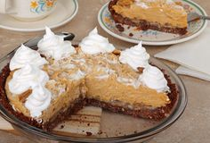 Salted Caramel Peanut Butter Pie -- I might go with graham cracker crust rather than pretzel crust but otherwise very interesting.