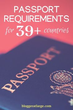 Passport requirements you need to know for your next trip! #travel #passport #requirements #countries