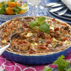 Chicken Supreme, Bacon, Grubs, Ratatouille, Vegetable Pizza, Food Inspiration, Quiche, Fit, Curry