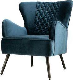 Chique, trendy en stijlvol. Dat is fauteuil Daisy! Deze heerlijke relaxstoel is met zijn elegante vormen en zijn trendy blauwe kleur een echte must-have in je interieur. De stoel heeft zachte fluwelen bekleding, wat helemaal de trend van nu is. De dikke zitting, oren en armleuningen maken de relaxfauteuil erg comfortabel en zorgen ervoor dat je uren ongestoord kan relaxen! De vier slanke schuine stoelpoten en de ruiten details in de rugleuning maken de elegantie van deze oorfauteuil helemaal…