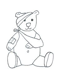 Bear Animal Coloring Pages Wild Page Young Cub