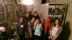 #SLSYO Powell Hall Scavenger Hunt on Sept. 6, 2014 – Booo! Haunted YO music library