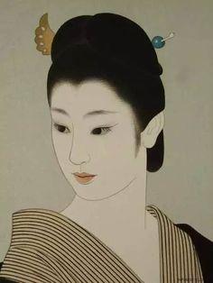 [转载]日本美人画欣赏<wbr>志村立美