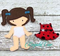 Anslee doll - this is a sample only - clothes will be different. available at https://www.etsy.com/shop/SchoolhouseBoutique