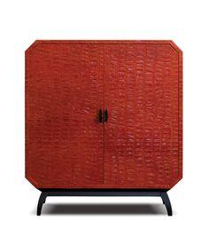 Sotto, le cabinet. Home Office Decor, Home Decor, Cabinet, Art Decor, Contemporary, Storage, Furniture, Leather, Design Ideas