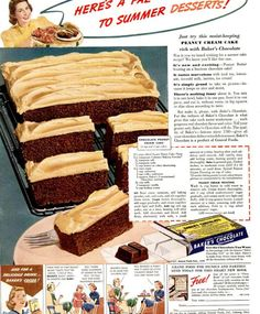 Chocolate Peanut Cream Cake