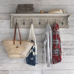 Bonnie | Wall Shelf With Hooks Bonnie - Shelves | Loaf