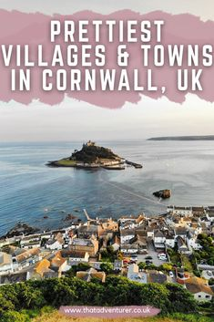 Want to visit Cornwall, England? Cornwall beaches aren't the only reason to visit! Check out this list of the prettiest towns and villages in Cornwall including St Ives, Falmouth, Polperro, Kynance Cove, Looe and Padstow. This Cornwall bucket list and Cornwall things to do should be added to your Cornwall itinerary!