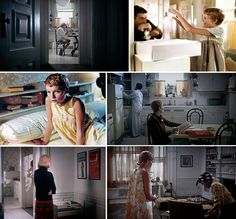 Rosemary's Baby. The apartment is one of my favorite things about the movie.