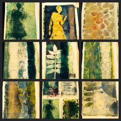 Gelli print by MIEKske Gelliarts
