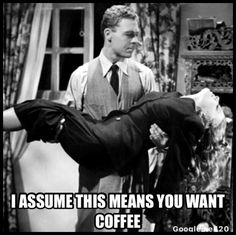 Yes. Coffee.