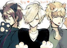 Diabolik Lovers    reiji   shu   subaru   anime            neko boys anime