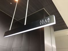 Image result for toilet signage wayfinding