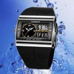 OHSEN A001 Fashion Dual Movement Waterproof Digital S