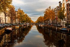 Autumn in Amsterdam by ResitSaricicek #architecture #building #architexture #city #buildings #skyscraper #urban #design #minimal #cities #town #street #art #arts #architecturelovers #abstract #photooftheday #amazing #picoftheday
