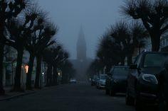 #Warnemünde heute früh im #Nebel 😍  #winter #winter2017 #februar #februar2017