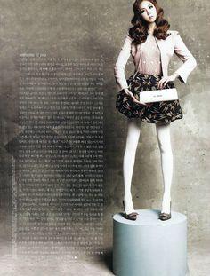 Uee (After School) for Elle Korea - barbie concept