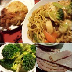 #pancitcanton #broccoli #ham for #yummy #dinner #food #philippines #フィリピン の#焼きそば #パンシットカントン #ブロッコリー まいうーな #ハム #晩ごはん
