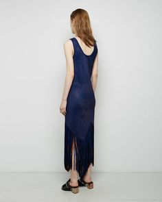 PROENZA SCHOULER | Basket Weave Fringe Dress | Shop at La Garçonne