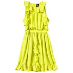 HP Gorgeous Prabal Gurung chartreuse dress  Gorgeous Prabal Gurung for Target dress in chartreuse. Tag says its a size 12, but fits an 8-10. I'm reposhing this gorgeous dress as sadly it doesn't fit my frame well.  This dress is ideal for someone taller. I'm super petite at 5'0 (pic #4) I can't get over how beautiful the color is. Perfect for weddings & summer events.  Prabal Gurung for Target Dresses