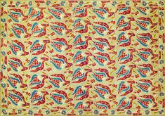 Turkish bed cover (during 18th century) embroidered in large flower and leaf motif, surrounded by a border. Floss silks on linen and darning stitch. Repeats of a large flower and leaf motif, surrounded by a border containing a similar design on a smaller scale. Red, blue, yellow and cream. by William Morris. Original from The Birmingham Museum. Digitally enhanced by rawpixel. | free image by rawpixel.com William Morris Patterns, Birmingham Museum, Classical Art, Free Illustrations, Large Flowers, Bed Covers, Free Image, Vintage Images, 18th Century