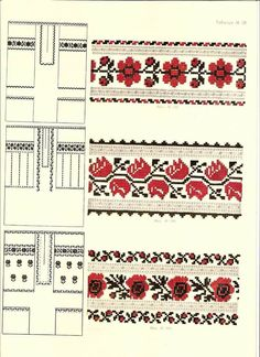Vzir Cross Stitch Charts, Cross Stitch Embroidery, Embroidery Patterns, Cutwork, Embroidery Techniques, Hand Sewing, Tatting, Needlework, Bohemian Rug