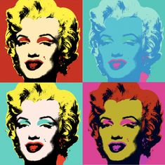 Marilyn Monroe 1967 by Andy Warhol