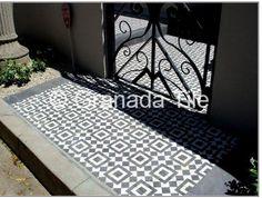 Granada Tile Floor installation Cement Moroccan Tile