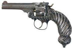 Rare historic and deluxe Tiffany & Co. Smith & Wesson .32 double action revolver. Exhibited by the Factory at the 1893 'World's Columbian Exposition' in Chicago.
