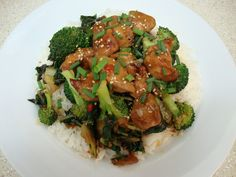 Chelsea's Culinary Indulgence: Sesame Chicken with Broccoli and Bok Choy Stir-Fry