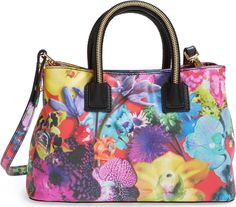 'Small Tropical Orchid' Tote