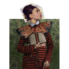 #miDelacroixtribute + @Gucci Collage by Mari Quiñonero