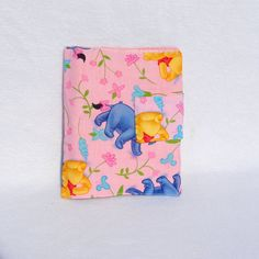 Winne the Pooh Travel Size Crayon Wallet-Crafts Travel Coloring Set-Childrens Crayon Wallet
