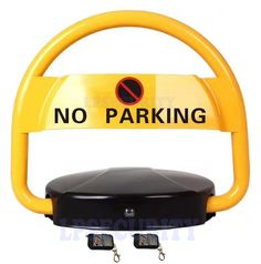 Road Safety No Parking Vehicle/ Bike Barrier / Block / Blockade automatic remote control  #Affiliate