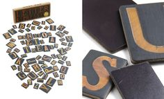 Letterpress Magnet Set