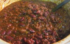 Free recipes and menu ideas for dinner and holiday meals. Chili Recipe With Celery, Hearty Chili Recipe, Celery Recipes, Best Chili Recipe, Chilli Recipes, Meat Recipes, Crockpot Recipes, Cooking Recipes, Award Winning Chili
