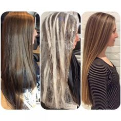 FORMULA: Sunkissed Highlights On Virgin Hair | Modern Salon