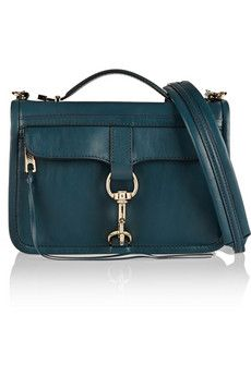 Rebecca Minkoff Bowery leather shoulder bag   THE OUTNET