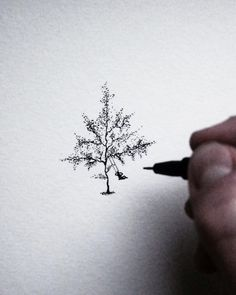 "Gefällt 521 Mal, 11 Kommentare - AntonMartinEriksson (@theantonmartinart) auf Instagram: ""Swing for your life kid! #tree #forest #swing #sketch #art #illustration #pencil #handmade #me…"""