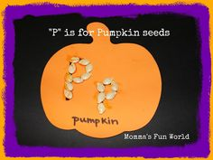 Momma's Fun World: P is for Pumpkin