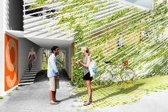 Rice+Lipka Architects — 14 PARCELS HOUSING